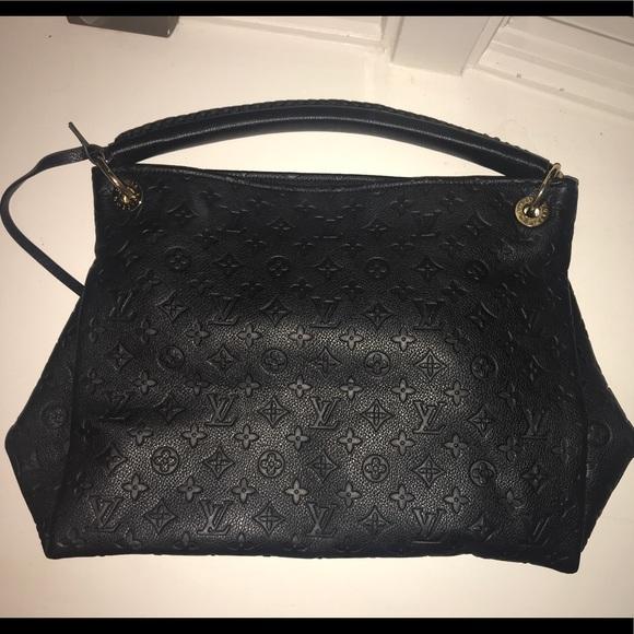 9e7dd15054303 Bags | Large Black Louis Vuitton Artsy Mm Knock Off | Poshmark